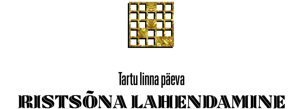 Ristsõna lahendamine Tartu linna päev 2020